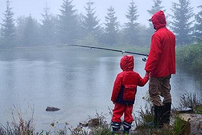 Bedste vejr til fiskeri? Se tips fiskevejr her