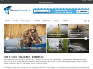 FiskesøerDanmark har fået ny hjemmeside