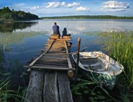 Årets gang ved fiskesøen: Juni