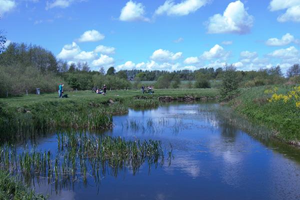 Lystfiskeriets Dag 2017 ved Højkilde Fiskerpark