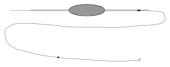 Synkende bombardaflåd til bundfiskeri